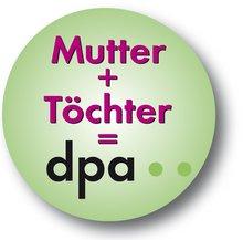Logo dpa und Töchter