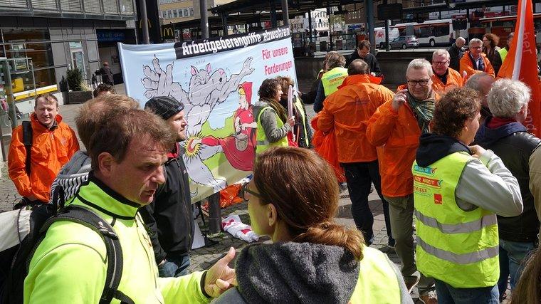 Streik in Bielefeld