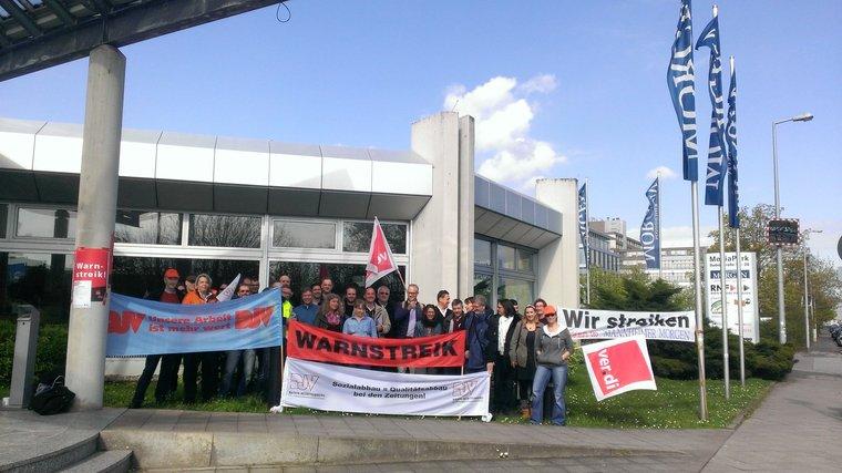 Streik beim Mannheimer Morgen