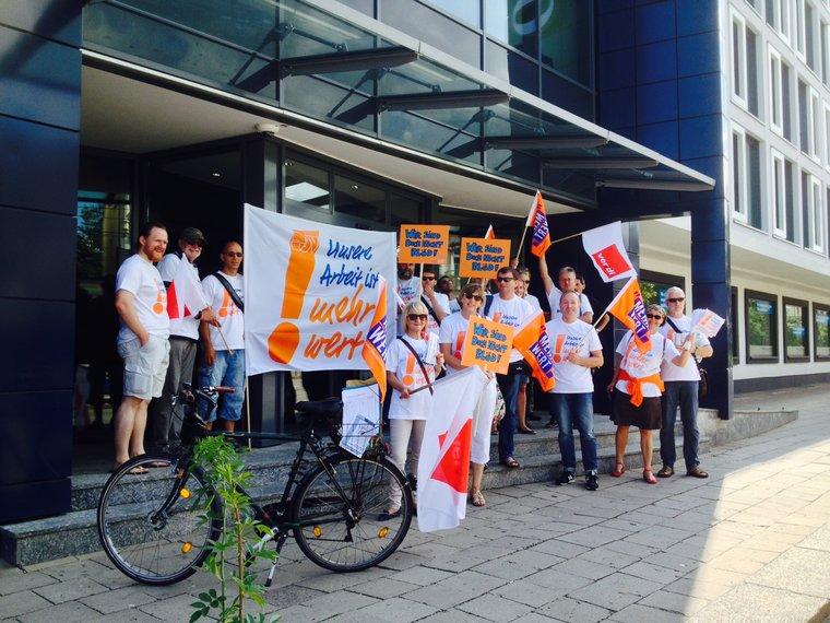 Streikfortsetzung in Rostock