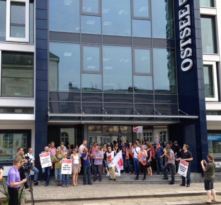 Zweiter Streiktag bei der Ostsee-Zeitung