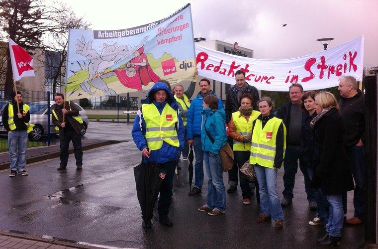 Streiktreffen in Bielefeld