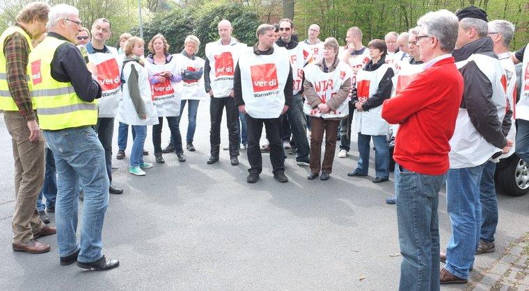 Streik bei Weser-Ems-Druck