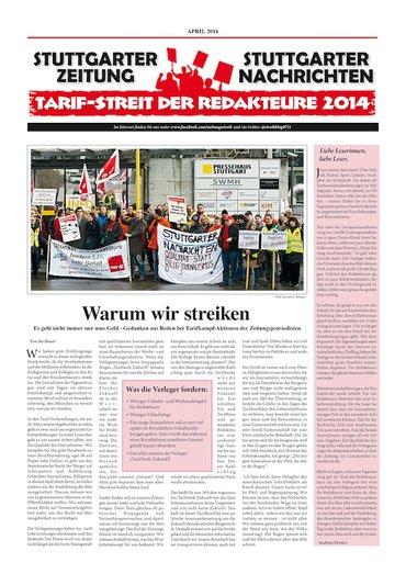 Stuttgarter Streikzeitung 2