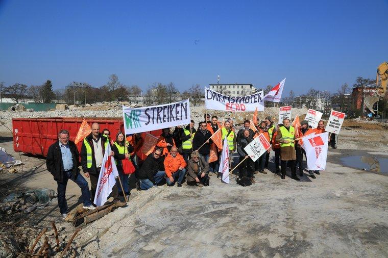 Kein Abbruch in Darmstadt
