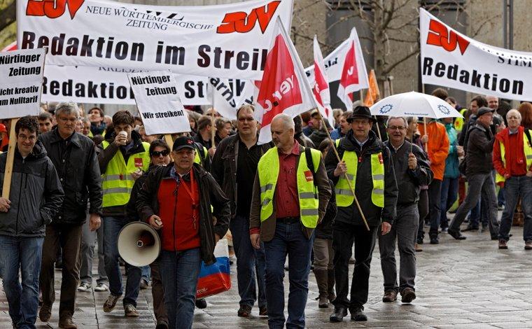 Wieder Stuttgarter Protest