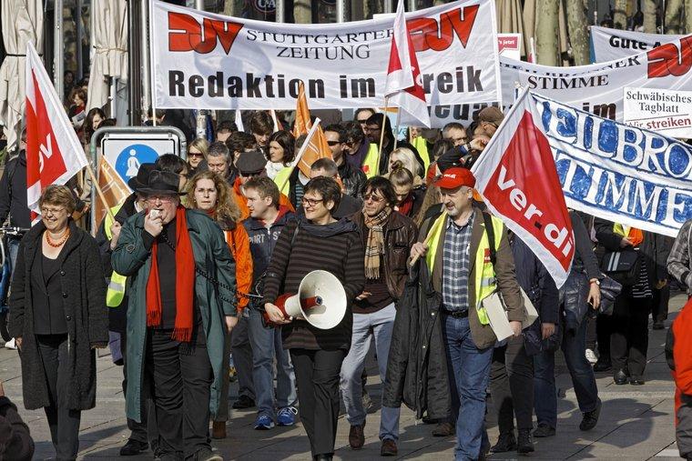 Streik in Stuttgart