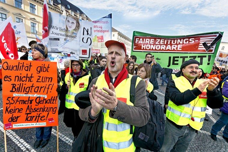 Kundgebung in München