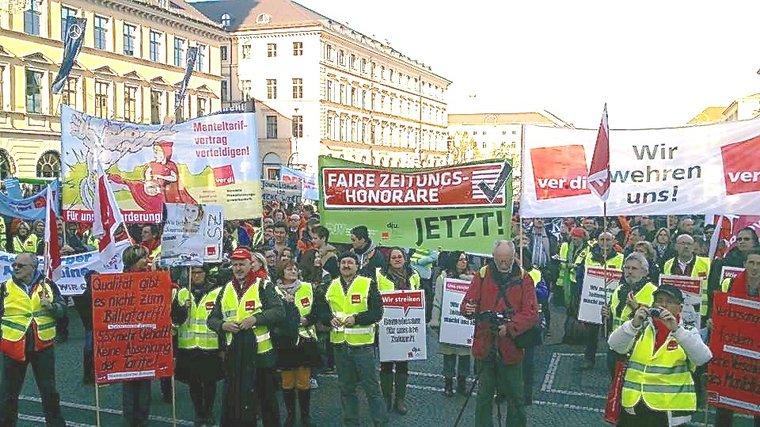 Demo am Odeonsplatz