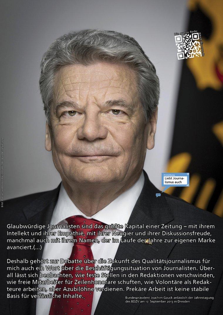 Gauck-Plakat