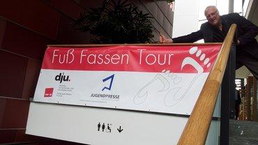 Fuß fassen Plakat