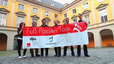 Fuß Fassen Tour Bonn 2013