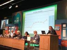 Wolfgang Mayer bei der IJF-Tagung in Dublin 2013
