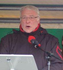 dju-Vorsitzender Ulrich Janßen
