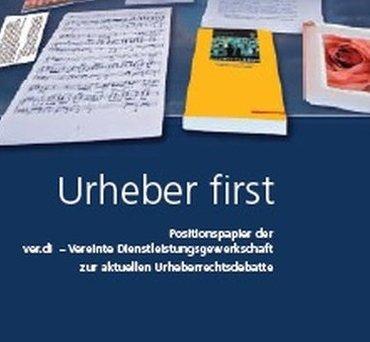 Urheber first