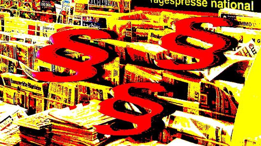 Paragrafen, Zeitungen
