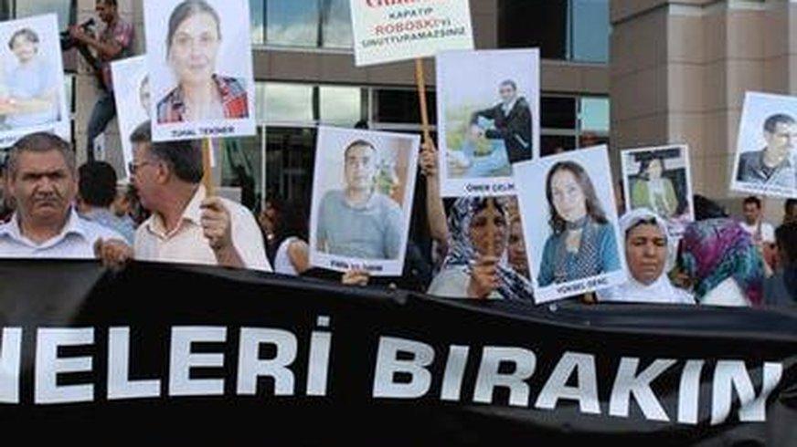 Demonstration gegen Journalistenprozesse in der Türkei