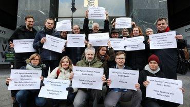 AFP Protest