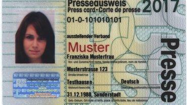 Presseausweis 2017