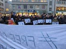 Demo für Deniz in Bielefeld