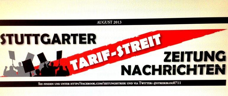 Tarifstreitzeitung Baden-Württemberg