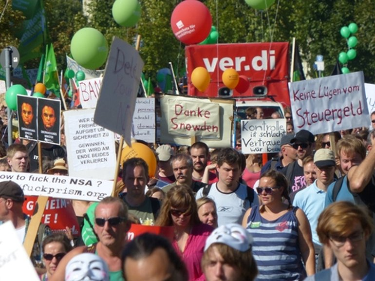 Datendemo 2013 in Berlin