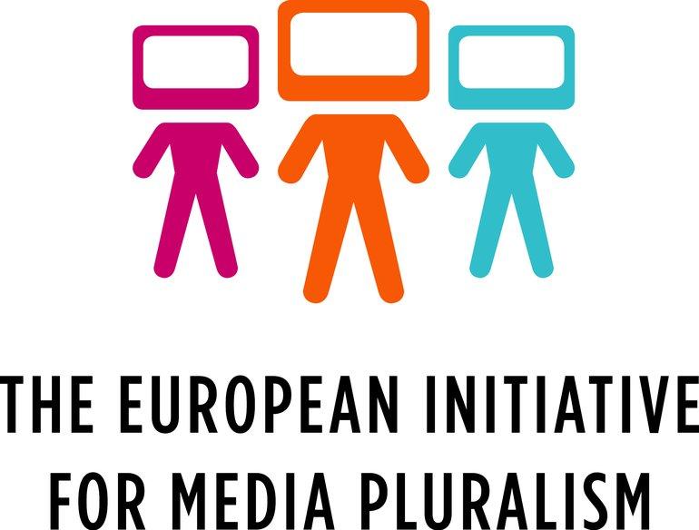 Logo  Europäische Bürgerinitiative für Medienpluralismus