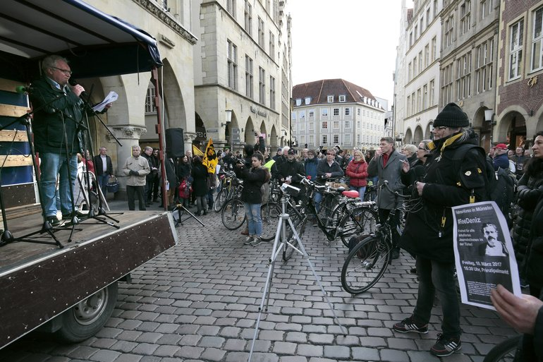 Demo in Münster