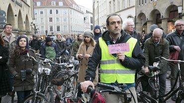 Fahrradkorso Münster