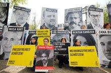 Demo vor der Türkischen Botschaft am 3. Mai