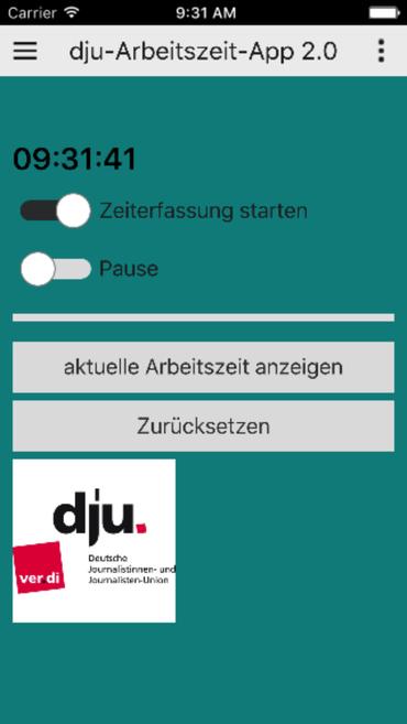 Arbeitszeit App 1