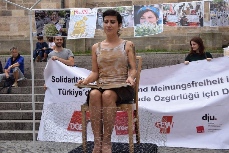Protest in Tübingen