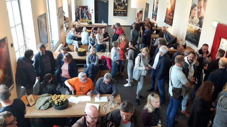 Streikversammliung in Bielefeld am 11. April 2018