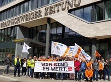 Demo in Braunschweig