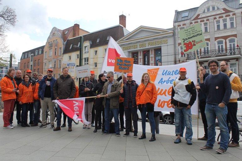 Streik in Rostock geht weiter