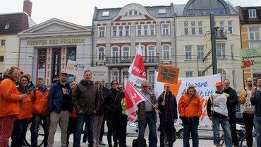 Rostock vor dem Bürgerbüro