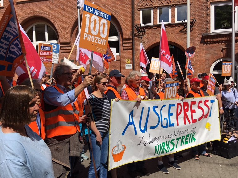 Demo in Kiel