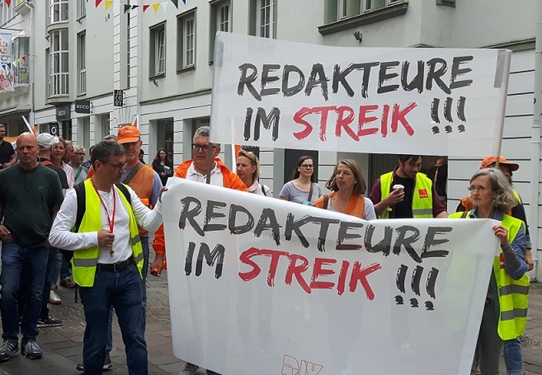 Demo in Paderborn