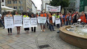 Bielefelder Flash-Mob