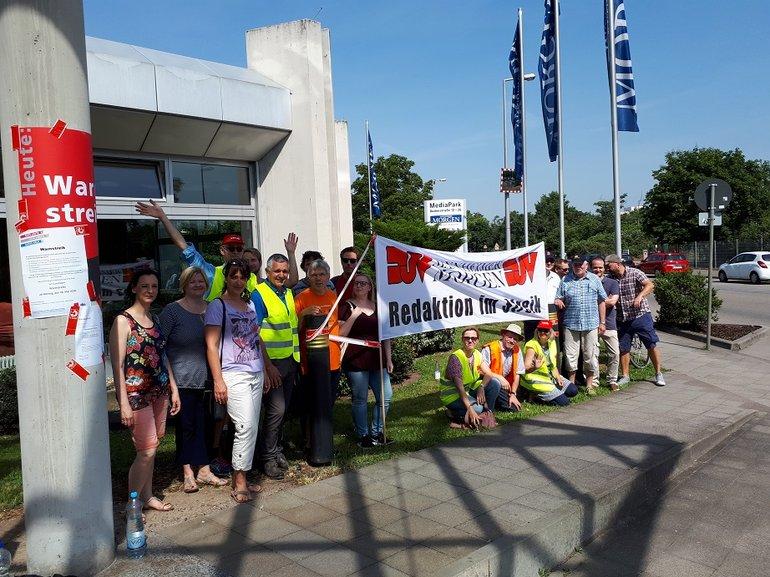 Streik beim Mannheimer Morgen 28 5 2018