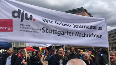 1. Mai in Stuttgart
