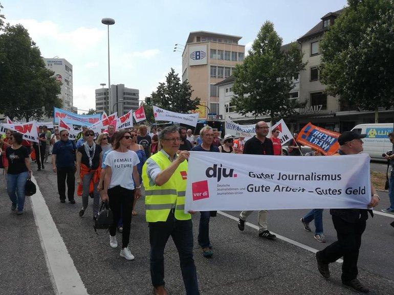 Protestmarsch durch Heilbronn 29 6 2018