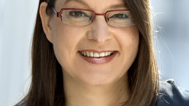 Andrea Valentiner-Brandt, neue verdi-Betriebsverbandsvorsitzende im SWR