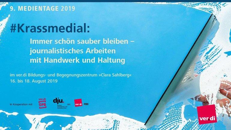 #krassmedial - Medientage 2019
