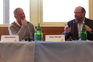 Klaus Schrage und Jochen Rausch