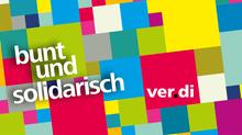 ver.di - bunt und solidarisch