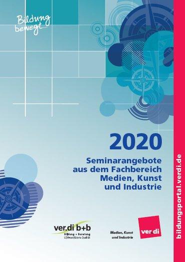 Seminarprogramm des Fachbereichs Medien, Kunst und Industrie 2020