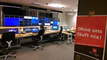 Streik beim Saarländischen Rundfunk am 6.11.2019