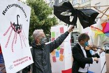 Demo in Düsseldorf: Mein Betrieb bin ich!