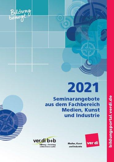 Seminarprogramm des Fachbereichs Medien, Kunst und Industrie 2021
